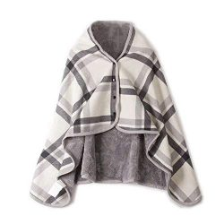 Clearance Sale ! Womens Blanket Scarf,Vanvler Ladies Poncho Wrap Shawl Multifunction Doublelayer ...