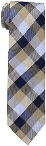 Tommy Hilfiger Men's Buffalo Tartan Tie, Khaki, One Size