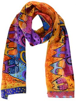 Laurel Burch Scarves, Feline Tribe
