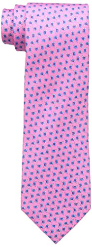 Tommy Hilfiger Men's Butterfly Print Tie, Pink, One Size