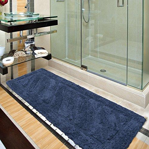 Silk Road Concepts Bath Rug, 20″ x 59″, Blue