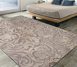 Silk Road Concepts SR-URB4153-5X7 Urban Collection Modern Area Rug, 5'3″ x 7'3 ...