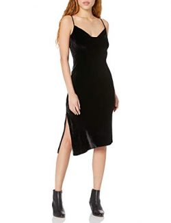 AG Adriano Goldschmied Women's Gia Dress, True Black, M