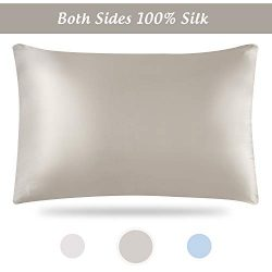 Silk Pillowcase, Silk Pillowcase for Hair and Skin, Silk Pillowcases, Silk Pillowcase Standard S ...