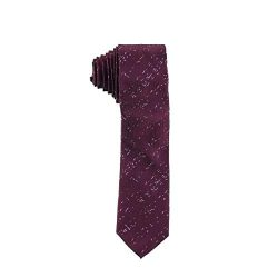 Calvin Klein Mens Lila Silk Printed Neck Tie Purple O/S