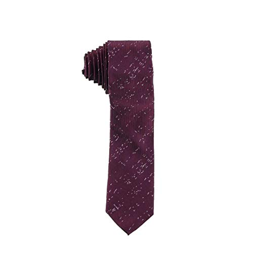 Calvin Klein Mens Lila Silk Printed Neck Tie Purple O/S
