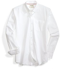 "Goodthreads Men's ""The Perfect Oxford Shirt"" Standard-Fit Long-Sleeve Solid  w ..."