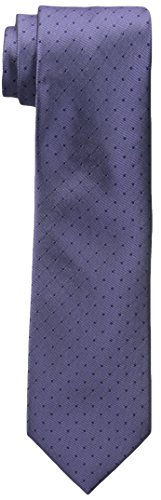 Calvin Klein Men's Classic Dot Tie, Lilac, One Size