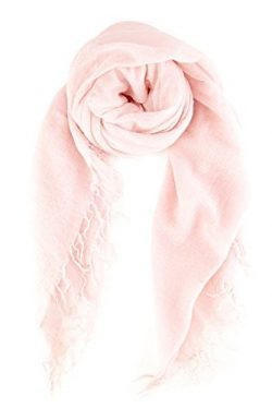 Chan LUU NEW Mauve Chalk Cashmere & Silk Soft Scarf Shawl Wrap