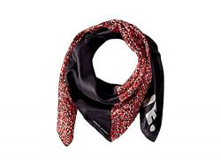 Rebecca Minkoff Women's Mini Pop Silk Square Scarf, Red, One Size
