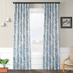 HPD Half Price Drapes BOCH-KC16072-108 Tea Time Blackout Room Darkening Curtain, 50 X 108, China ...