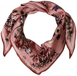Vince Camuto Women's Bees Knees Floral Kite Scarf, Lilac, One Size