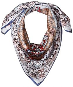 Vince Camuto Women's Medallion Neckerchief, blue/red, O/S