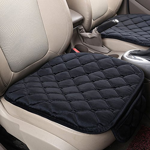 Sedeta Silk Velvet Car seat covers Vehicle Front Mesh Protective Cover Cushion Mat Pad Decor in  ...