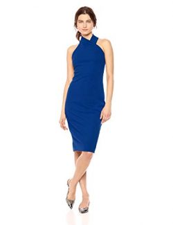 RACHEL Rachel Roy Women's Harland Dress, Silk Blue, XS
