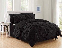 Luxury Best, Softest, Coziest 8-Piece Bed-in-a-Bag Comforter Set on Amazon! Elegant Comfort R ...