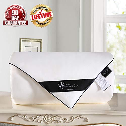 Hypnos Silk Comforter/Duvet/Quilt – Lightweight Soft Hypoallergenic – Luxury All-Sea ...
