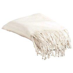 Aus Vio 100-Percent Silk Fleece Throw Blanket