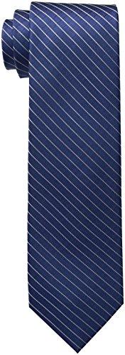 Calvin Klein Men's Navy Ties, III, X-Long