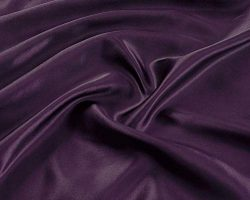 Linen Plus Queen Size 4pc Satin Sheet Set Soft Silk Cozy Solid Purple New