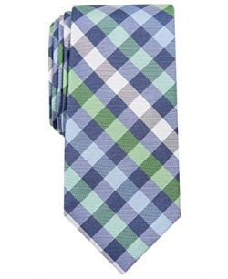 Nautica Men's Waves Plaid, Green, One Size
