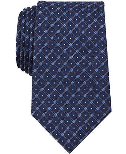 Nautica Men's Shoal Geo Tie, blue/navy, One Size