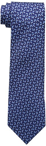 Tommy Hilfiger Men's Navy Ties, Butterfly Navy, One Size