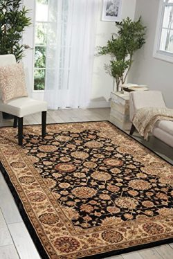 Nourison Nourison 2000 (2204) Midnight Rectangle Area Rug, 3-Feet 9-Inches by 5-Feet 9-Inches (3 ...