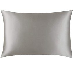 Mellanni Silk Pillowcase King – 19 Momme 100% Pure Natural Mulberry Silk Pillow Case for H ...