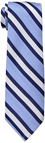 Tommy Hilfiger Men's Repp Stripe Tie, Blue, One Size