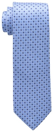 Tommy Hilfiger Men's Core Neat I Tie, Blue, One Size