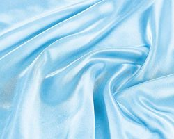 EliteHomeProducts EHP Super Soft and Silky Satin Sheet Set (Solid/Deep Pocket) (Queen, Sky Blue)
