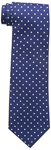Tommy Hilfiger Men's Dot Print Tie, Navy, One Size