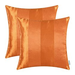 CaliTime Pack of 2 Cushion Covers Throw Pillow Cases Shells for Couch Sofa Home Decoration Moder ...