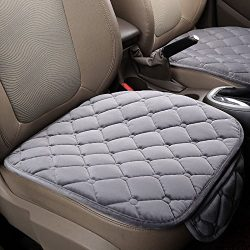 Mingruie Silk Velvet Car seat covers Vehicle Front Mesh Protective Cover Cushion Mat Pad Decor i ...