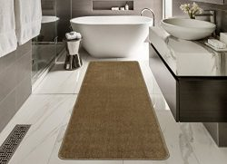 Silk Road Concepts Collection Color Rugs, 20″ x 59″, Beige