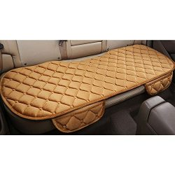Mingruie Silk Velvet Auto Car Vehicle Long Rear Seat Chair Cover Protective Cushion Mat pad for  ...