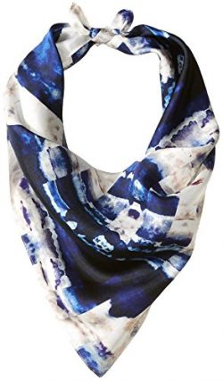 LAUNDRY BY SHELLI SEGAL Women's Geo Print, vibrant blue/multi, one size