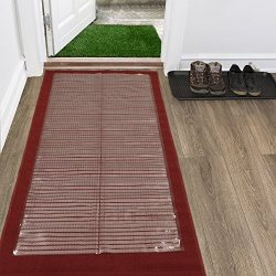 Silk Road Concepts Clear Runner Rug Carpet Protector, 26X6
