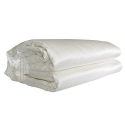 THXSILK Silk Comforter with Removable Silk Duvet Cover, Silk Filled Comforter Silk Duvet Silk Qu ...