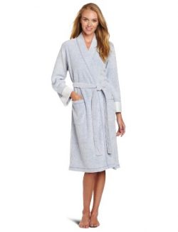 N Natori Women's Nirvana Robe, Imperial Blue, Medium