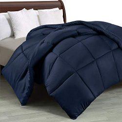 Utopia Bedding Comforter Duvet Insert – Quilted Comforter with Corner Tabs – Box Sti ...