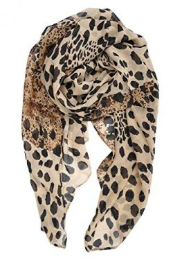 YOUR SMILE Ladies/Women's Lightweight Floral Print/Solid Color mixture Shawl Scarf For Spr ...
