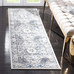 Safavieh Evoke Collection EVK220D Shabby Chic Vintage Oriental Medallion Area Rug, 2′ 2 ...