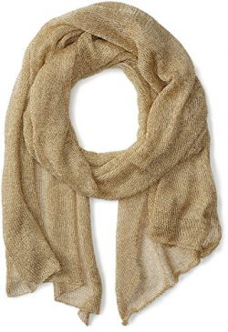 Betsey Johnson Women's Love Liquid Mesh Wrap, GOLD, Total Units