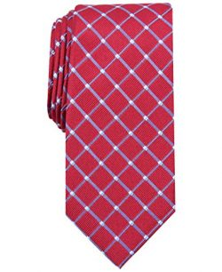 Nautica Men's Shoal Geo, Red, One Size