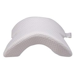 KRISMYA Memory Foam Pillow Cervical Neck Pillow for Sleeping,U Shaped Slow Rebound Pressure Ice  ...