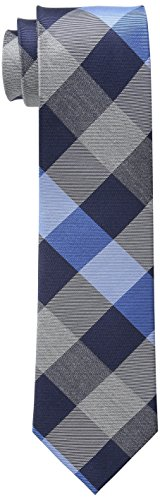 Tommy Hilfiger Men's Rwb Buffalo Slim Tie, Blue, One Size