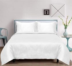 LINENWALAS Full Size Bamboo Sheets 4 Piece Bed Sheet Set 100% Organic with 16″ Extra Deep  ...