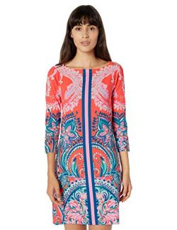 Lilly Pulitzer Women's UPF 50, Tangerine Tangerine Dream Engineered Sophie Dress, S